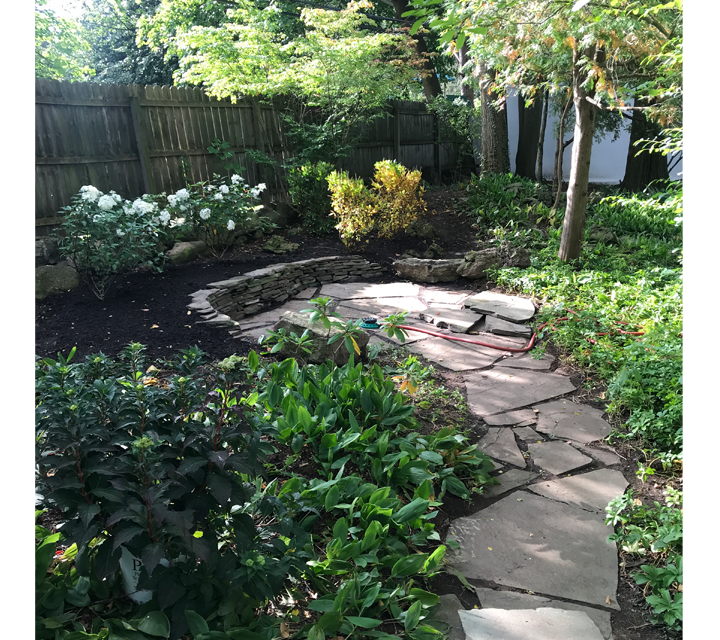 CWM Landscaping example in Pittsford NY