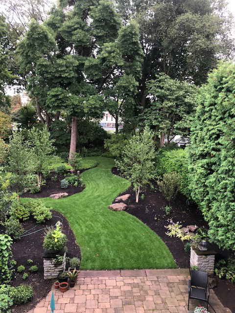 CWM Landscaping example in Brighton NY